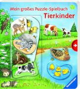 Ravensburger 015702 Puzzle-Spielbuch: Tierkinder