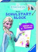 Ravensburger 015894 Disney Die Eiskönigin Mein Schulstartblock: Zählen und Rechnen