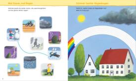 Tessloff WAS IST WAS Kindergarten Malen Rätseln Stickern. Das Wetter