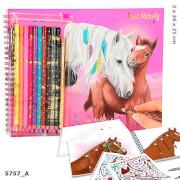 Depesche 5757 Miss Melody Malbuch mit Stift