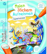Ravensburger 65887 tiptoi® CREATE Malen ... Superhelden F20