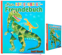 Dino World Kindergarten-Freundebuch