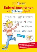 Conni Gelbe Reihe: Schreiben lernen mit Sticker-Spaß