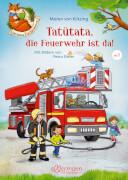 Der kleine Fuchs liest. Tatütata, die Feuerwehr ist da!
