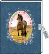 Taschenbuch Tagebuch  Mein Tagebuch  Pferdefreunde  sortiert