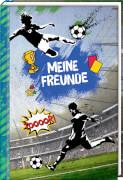 Taschenbuch Freundebuch  Meine Freunde - Fußball  sortiert
