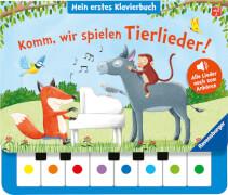 Ravensburger 43889 Wir spielen Tierlieder! Klavierbuch