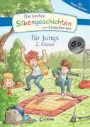Loewe Die besten Silbengeschichten zum Lesenlernen für Jungs 2. Klasse