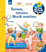 Ravensburger 32988 WWWjun71 Turnen, tanzen, Musik machen