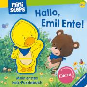 Ravensburger 30060 Holzpuzzle-Buch, Emil Ente 24+m
