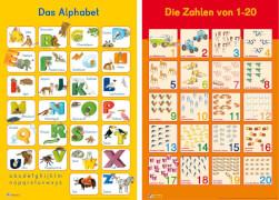 Mein Lernposter: Das Alphabet / Zahlen 1 - 20