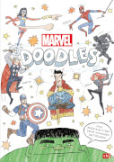 MARVEL DOODLES # Superhelden-Kritzelspaß