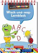 Lernerfolg Vorschule: Großbuchstaben (Wisch-&-weg-Lernblock)