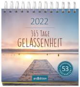 Postkartenkalender 365 Tage Gelassenheit 2022