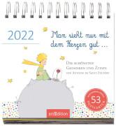 Postkartenkalender Man sieht nur mit dem Herzen gut ... 2022