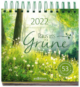 Postkartenkalender Raus ins Grüne 2022