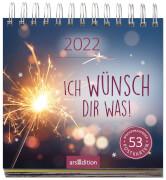 Postkartenkalender Ich wünsch dir was 2022