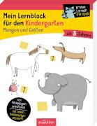 Mein Lernblock für den Kindergarten - Mengen und Größen