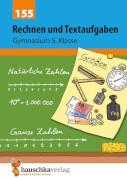 Rechnen und Textaufgaben - Gymnasium 5. Klasse. Ab 10 Jahre.