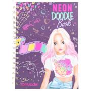 TOPModel Neon Doodle Malbuch-Set
