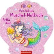 Nella Nixe: Mein liebstes Muschel-Malbuch