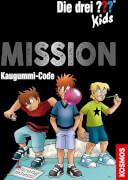 Kosmos Die drei ??? Kids Mission Kaugummi-Code (Escape)