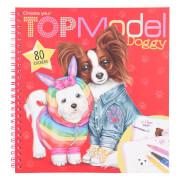 Create your TOPModel Doggy Malbuch