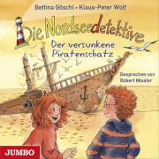 CD Die Nordseedetektive - Der versunkene Piratenschatz, 1 Audio-CD