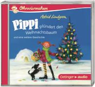 Ohrwürmchen: Pippi plündert den Weihnachtsbaum und eine weitere Geschichte (CD)