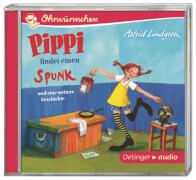 Pippi findet einen Spunk und eine weitere Geschichte (CD), Kinderhörbuch, 30 Minuten, ab 4 Jahren
