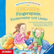 CD Meine erste Kinderbibliothek - Meine ersten Fingerspiele, Kinderreime und Lieder