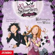 CD Die Vampirschwestern black und pink - Halbvampire wider Willen, 2 Audio-CDs