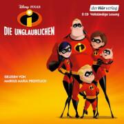 Die Unglaublichen, 2 Audio-CDs, Kinderhörbuch, Laufzeit: ca. 2h 30, ab 5 Jahren