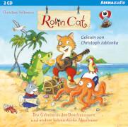 CD D2393Seltmann, Christian: Arena audio  Robin Cat  Das Geheimnis der Drachennasen
