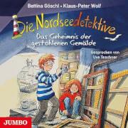 Die Nordseedetektive [8]. Das Geheimnis der gestohlenen Gemälde. 1 Audio-CD