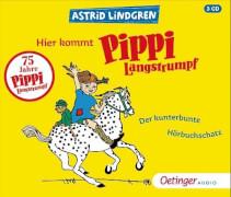 Hier kommt Pippi Langstrumpf! Der kunterbunte Hörbuchschatz CD
