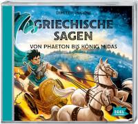 Inkiow, Griechische Sagen. Von Phaeton bis König Midas 2 CD
