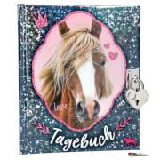 Depesche 8935 Horses Dreams Tagebuch, blau
