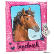 Depesche 8936 Horses Dreams Tagebuch, pink