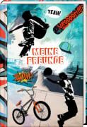 Freundebuch - Meine Freunde - Sport, gebundenes Buch, 96 Seiten, ab 6 - 12 Jahre