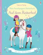 Mein Anziehpuppen-Stickerbuch - Auf dem Reiterhof