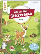 Stickerbuch Tiere