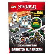 LEGO® NINJAGO® - Stickerabenteuer  Banditen auf Rädern