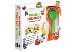 Freche Freunde: Das freche Cup- und Back-Set # Mit 5 Cups und 20 frechen Rezepten für die ganze Familie