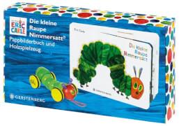 Buch Die kleine Raupe Nimmersatt mit Holzraupe
