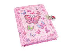 Tagebuch mit Schmetterlingmotiv