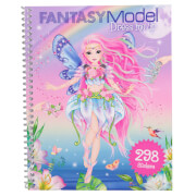 Depesche 10955 Fantasy Model Dress me up Stickerbook
