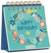 Mini-Mini-Aufsteller: Happy Birthday!