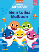 Baby Shark: Baby Shark: Mein tolles Malbuch