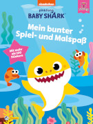 Baby Shark: Baby Shark: Mein buntes Stickerbuch